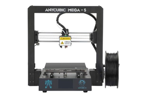 ANYCUBIC Mega-S New Upgrade 3D Printer with Extruder and Suspended Filament-BestCartReviews