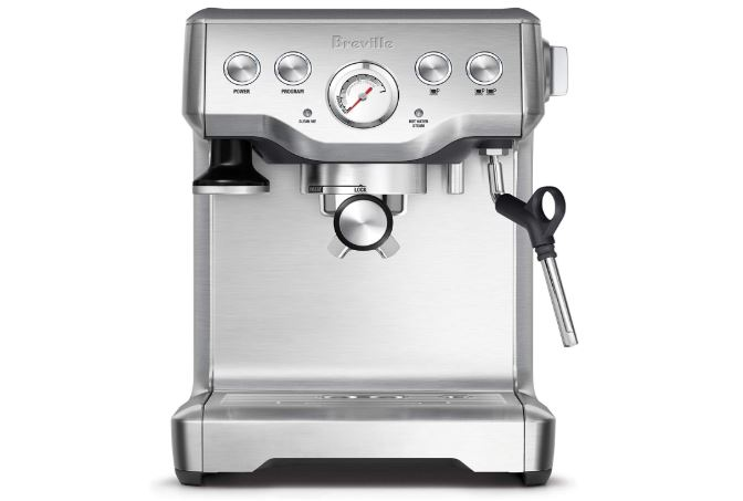 breville bes840xl the infuser espresso machine stainless steel