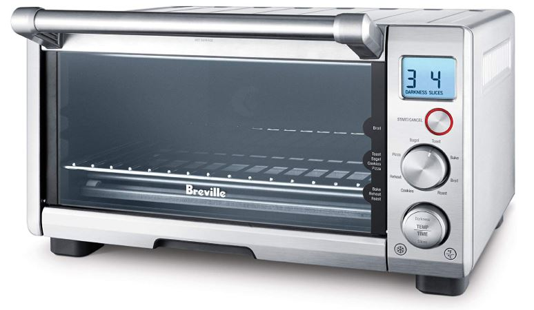 breville the compact smart oven countertop electric toaster oven bov650xl review