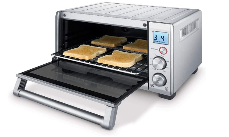 Breville Bov650xl Toaster Oven - breville the compact smart oven countertop electric toaster oven bov650xl