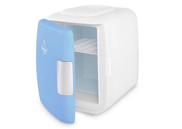 cooluli mini fridge electric cooler and warmer (4 liter - 6 can)