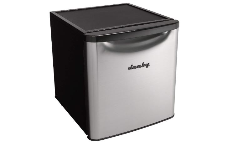 danby dar017a3bsldb contemporary classic all refrigerator stainless steel