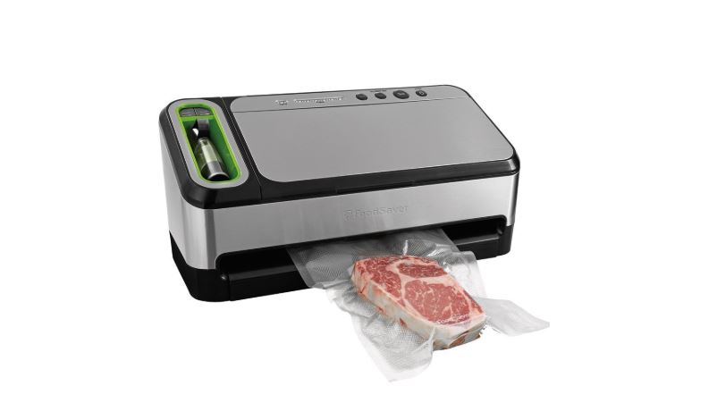 foodsaver v4840 2-in-1 vacuum sealer machine with automatic bag detection