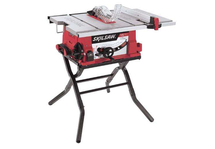 skil 10-inch table saw with folding stand 3410-02