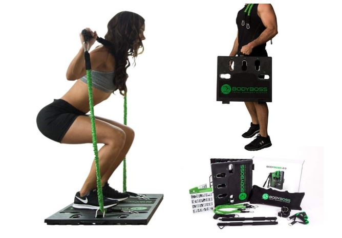 bodyboss home gym 2.0 - full portable gym home workout package reviews