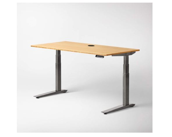 jarvis bamboo adjustable standing desk review