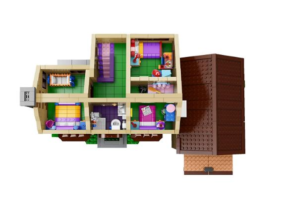 lego the simpsons house 71006 build and reviews