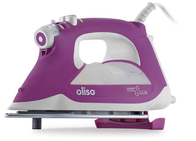 oliso tg1100 smart iron with itouch technology 1800 watts