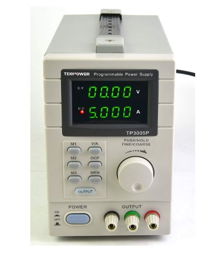 tekpower tp3005t programmable linear type variable regulated dc power supply