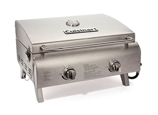 cuisinart cgg-306 professional tabletop gas grill review