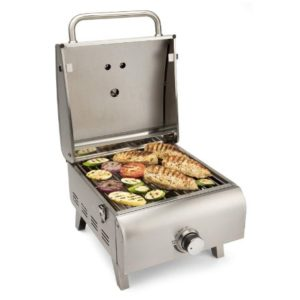 cuisinart cgg 608 professional tabletop gas grill review