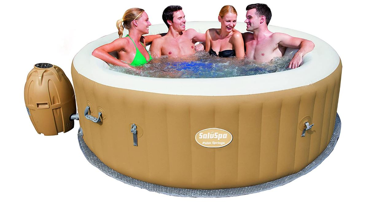 Bestway Hot Tub-Best Inflatable Hot Tub with Hydro Jets Review-BestCartReviews