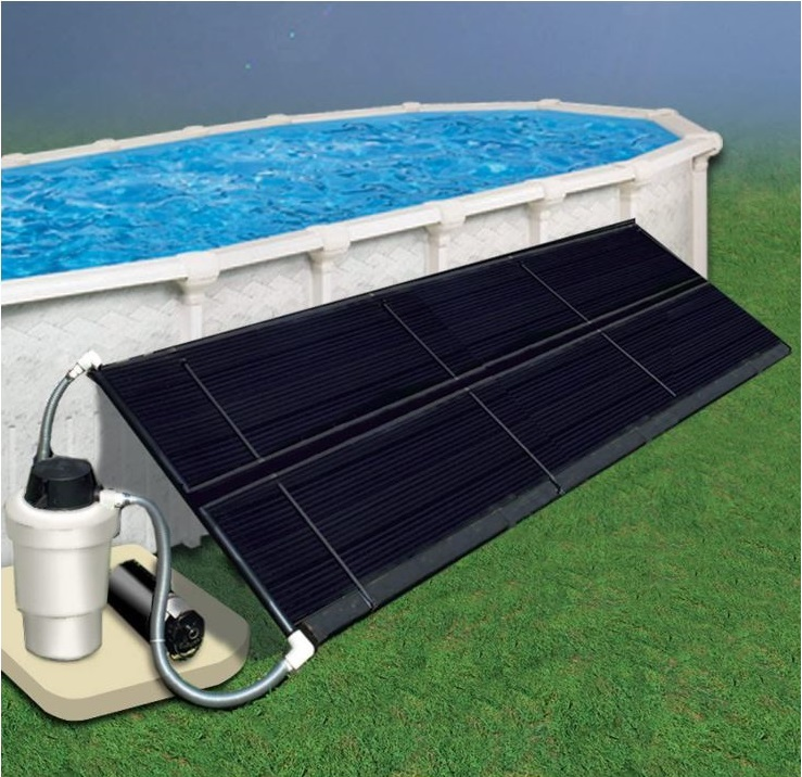 Doheny's Space Saver Solar Heating Collector-BestCartReviews