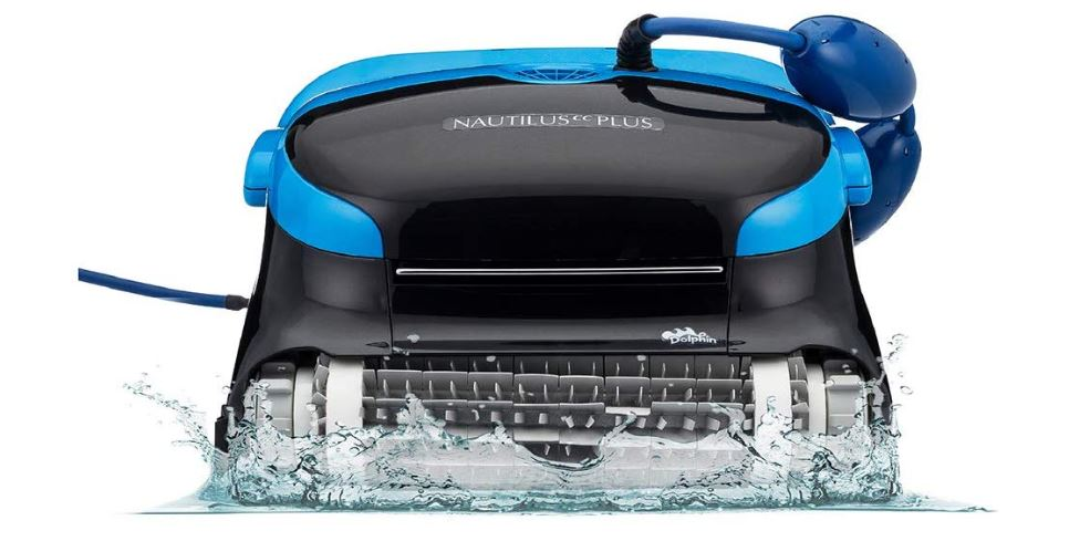 Dolphin Nautilus CC Plus Automatic Robotic Pool Cleaner with Easy to Clean Large Top Load Filter