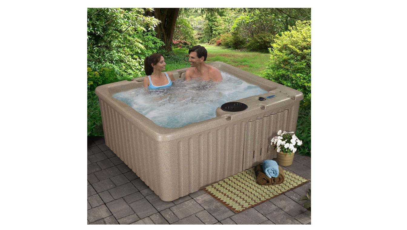 Essential Hot Tubs 14-Jet Newport Hot Tub-BestCartReviews