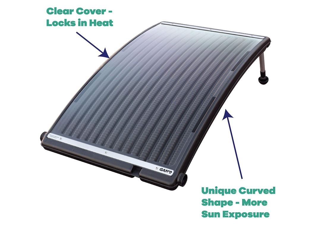 GAME SolarPRO Curve Solar Pool Heater-BestCartReviews
