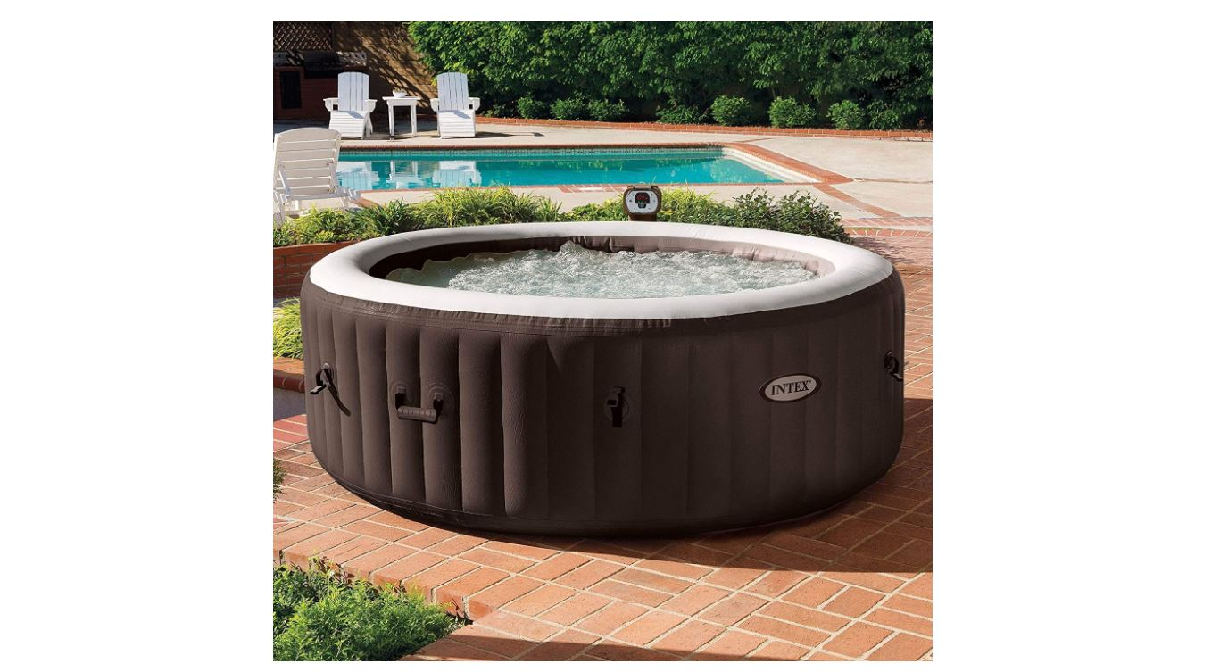 Intex PureSpa Bubble Massage Outdoor Hot Tub, 3-4 Person hot tubs-BestCartReviews