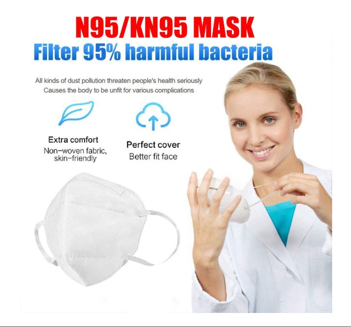 N95 Medical Face Mask Particulate Respirator Anti-Dust
