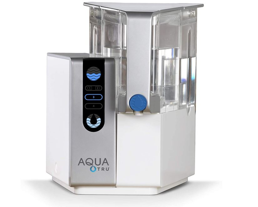 Aquatru Ultra Reverse Osmosis Countertop Water Purifier - BestCartReviews