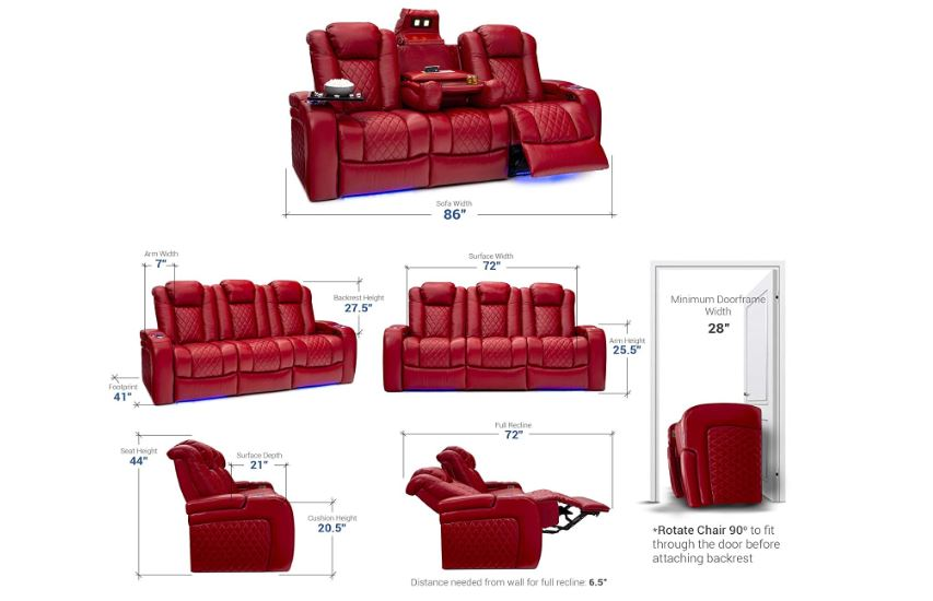 12 Best Reclining Sofa Sets Leather