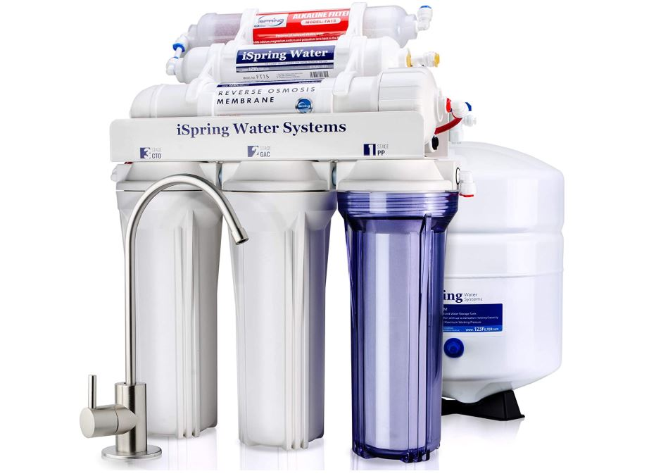 Ispring 6 Stage Reverse Osmosis System - BestCartReviews