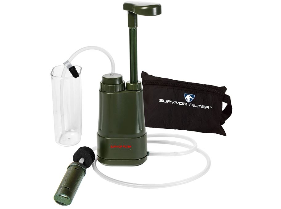 Survivor Filter Pro - 0.01 micron portable virus tested water purifier - BestCartReviews.com