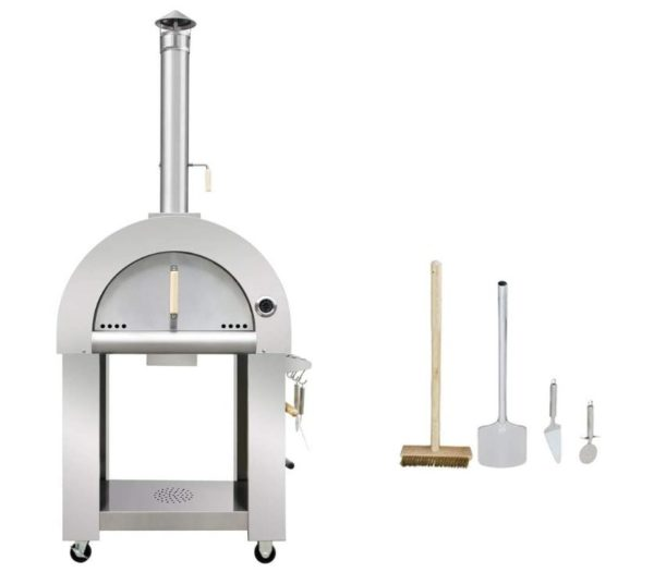 Best Wood Fired Pizza Oven for Sale - Wood Burning Outdoor Pizza Oven - BestCartReviews
