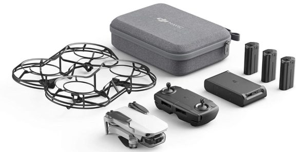 DJI Mavic Mini Combo - Drone FlyCam Quadcopter - BestCartReviews