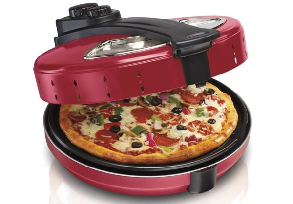 Hamilton Beach Pizza Maker - Hamilton Beach Enclosed Pizza Oven Maker Review