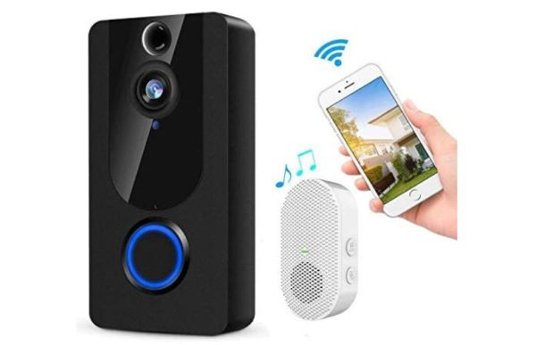 KAMEP Wireless Video Doorbell Camera 1080P Smart Home Security System - BestCartReviews