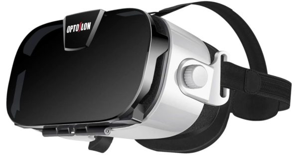 Virtual Reality Headset, OPTOSLON 3D VR Glasses for Mobile Games and Movies by BestCartReviews