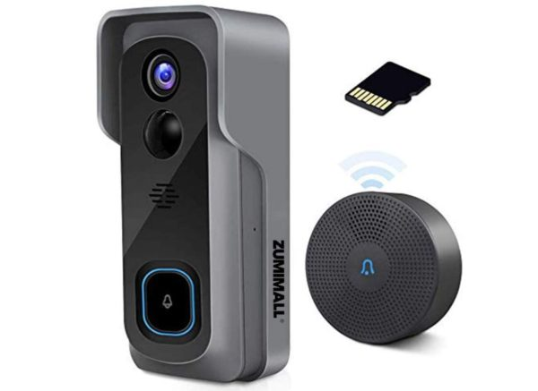 Zumimall cameras - WiFi Video Doorbell Camera with Chime - BestCartReviews
