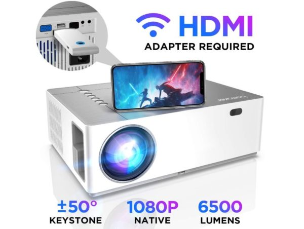 BOMAKER Native 1080p Full HD Projector - BestCartReviews