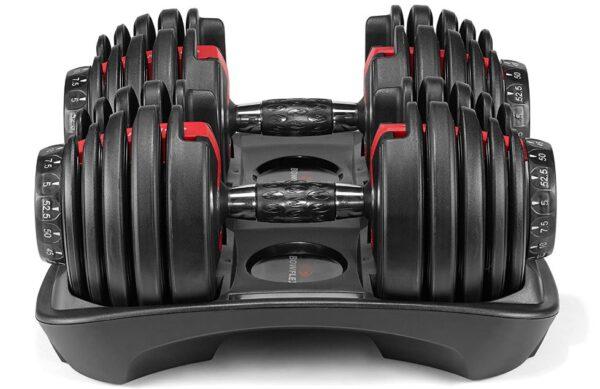 Bowflex SelectTech 552 - Two Adjustable Dumbbells - BestCartReviews