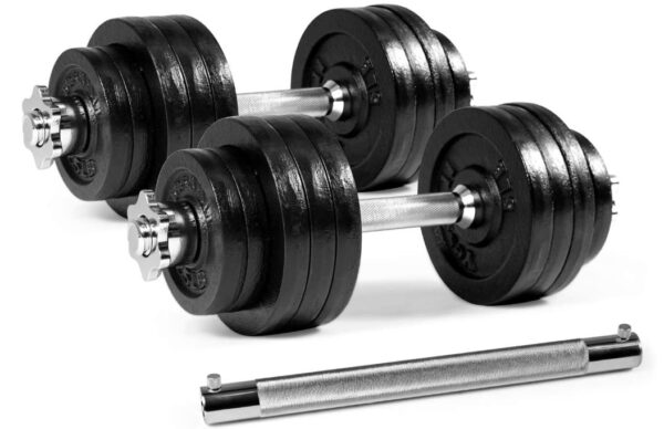 Yes4All Adjustable Dumbbells 40, 50, 52.5, 60, 105 to 200 lbs - BestCartReviews