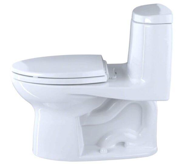 Toto UltraMax II One-Piece Elongated 1.28 GPF Universal Height Toilet - BestCartReviews