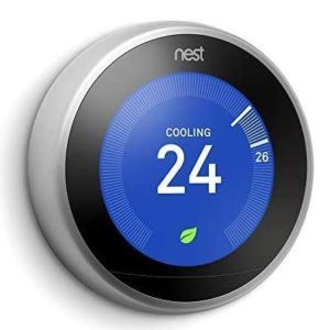 Google Nest Learning Thermostat - Programmable Smart Thermostat for Home - 3rd Generation Nest Thermostat