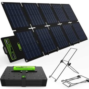UPGRADE Topsolar SolarFairy 60W Portable Foldable Solar Panel Charger Kit