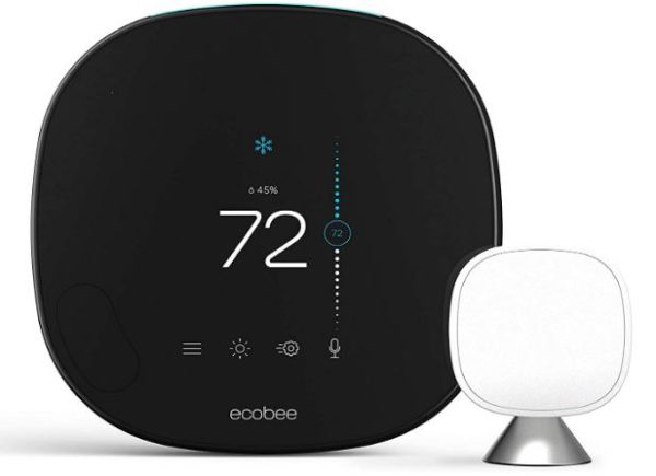 ecobee SmartThermostat with Voice Control - BestCartReviews
